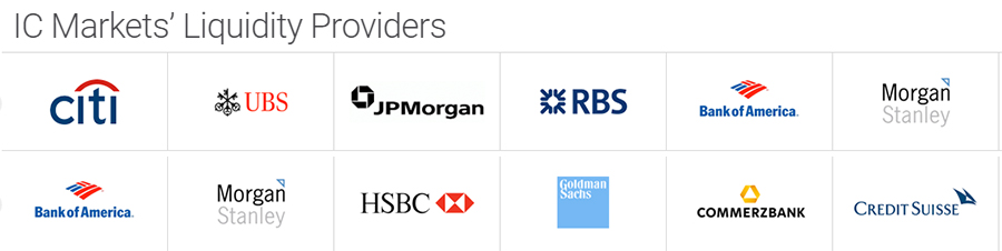 ICMarkets Liquidity Providers
