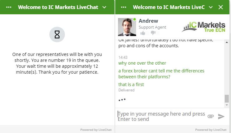 IC Markets Customer Support